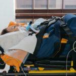 Перевозка на самолете пациента с травмой